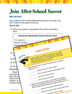 Read and Succeed Comprehension Level 2: Logical Order Pass
