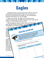 Read and Succeed Comprehension Level 2: Main Idea and Details Passage and Questions