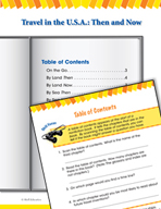 Read and Succeed Comprehension Level 2: Table of Contents Passages and Questions