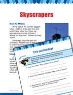 Read and Succeed Comprehension Level 2: Title and Headings Passages and Questions