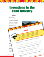 Read and Succeed Comprehension Level 3: Index Passages and Questions