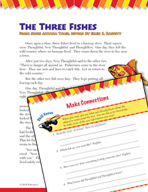 Read and Succeed Comprehension Level 3: Making Connections Passages and Questions