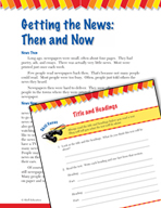 Read and Succeed Comprehension Level 3: Title and Headings Passages and Questions