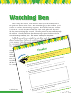 Read and Succeed Comprehension Level 3: Visualizing Passages and Questions