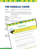 Read and Succeed Comprehension Level 4: Asking Questions Passages and Questions