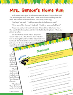 Read and Succeed Comprehension Level 4: Characters Passages and Questions