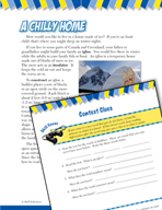 Read and Succeed Comprehension Level 4: Context Clues Passages and Questions