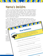 Read and Succeed Comprehension Level 4: Drawing Conclusions Passages and Questions