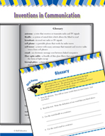 Read and Succeed Comprehension Level 4: Glossary Passages and Questions