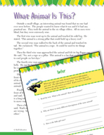 Read and Succeed Comprehension Level 4: Inferring Passages and Questions
