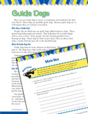 Read and Succeed Comprehension Level 4: Main Idea Passages