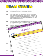 Read and Succeed Comprehension Level 5: Asking Questions Passages and Questions