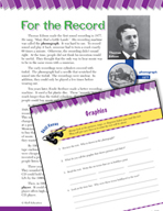 Read and Succeed Comprehension Level 5: Graphics Passages and Questions