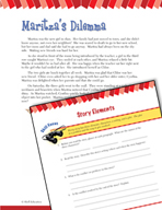 Read and Succeed Comprehension Level 5: Story Elements Passages and Questions