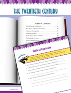 Read and Succeed Comprehension Level 5: Table of Contents