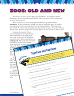Read and Succeed Comprehension Level 5: Typeface and Captions Passages and Questions