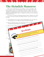 Read and Succeed Comprehension Level 6: Setting a Purpose Passages and Questions
