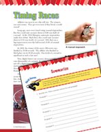 Read and Succeed Comprehension Level 6: Summarizing Passages and Questions