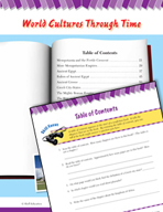 Read and Succeed Comprehension Level 6: Table of Contents Passages and Questions