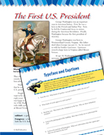 Read and Succeed Comprehension Level 6: Typeface and Captions Passages and Questions