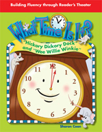 """Reader's Theater - """"Hickory Dickory Dock"""" and """"Wee Willie Winkie"""""""