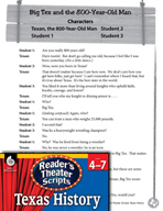 Reader's Theater Texas: Big Tex and the 800-Year-Old Man