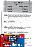 Reader's Theater Texas: Cinco de Mayo