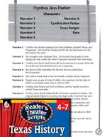 Reader's Theater Texas: Cynthia Ann Parker