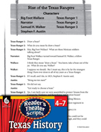 Reader's Theater Texas: Rise of the Texas Rangers
