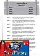Reader's Theater Texas: Texas Facts