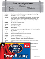 Reader's Theater Texas: There's a Pledge in Texas