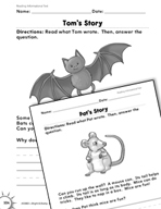 Reading Informational Text: Inferences Practice