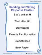 Reading and Writing Response Centers for Grades PK-1
