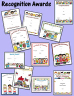 Recognition Awards by Karen's Kids