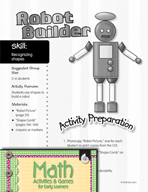 Recognizing Shapes - Robot Builder Activity