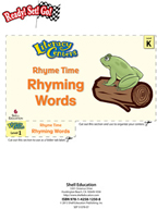 Rhyming Words - Rhyme Time Literacy Center