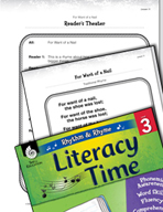 Rhythm and Rhyme Literacy Time: Activities for For Want of a Nail