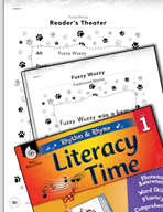 Rhythm and Rhyme Literacy Time: Activities for Fuzzy Wuzzy
