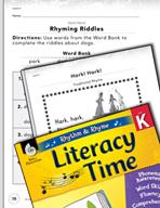 Rhythm and Rhyme Literacy Time: Activities for Hark! Hark!