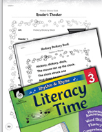 Rhythm and Rhyme Literacy Time: Activities for Hickory Dickory Dock