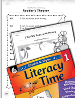 Rhythm and Rhyme Literacy Time: Activities for I Eat My Peas with Honey