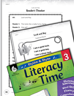 Rhythm and Rhyme Literacy Time: Activities for Lock and Key