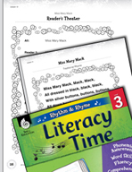 Rhythm and Rhyme Literacy Time: Activities for Miss  Mary Mack