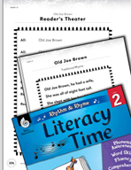 Rhythm and Rhyme Literacy Time: Activities for Old Joe Brown