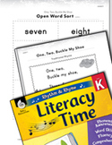 Rhythm and Rhyme Literacy Time: Activities for One, Two, Buckle My Shoe