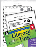 Rhythm and Rhyme Literacy Time: Activities for Sing a Song of Sixpence