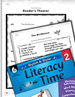 Rhythm and Rhyme Literacy Time: Activities for The Birdhouse