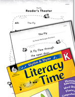 Rhythm and Rhyme Literacy Time: Activities for The Fly
