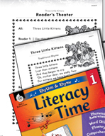 Rhythm and Rhyme Literacy Time: Activities for Three Little Kittens