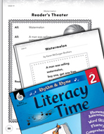 Rhythm and Rhyme Literacy Time: Activities for Watermelon